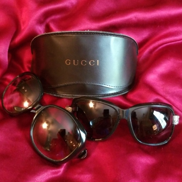 18d496ee71 Gucci Accessories - GUCCI LOT OF 3 LG FRAMED (2) SUNGLASSES   (1